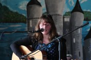 Amongst the local artists who performed during the Visioning Day was musician Miriam Donohue.