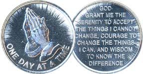 Aluminum Affirmation Desire Coins/