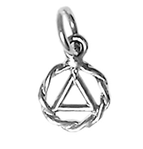 Alcoholics Anonymous Silver Charm 330-1