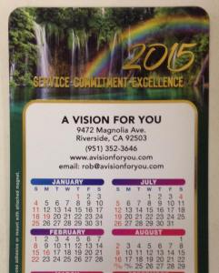 2015 A vision for you calenders