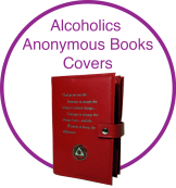 Alocholics Anonymous Book Cover