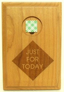 just-for-today-4x6-wood-plaque-medallion-holder