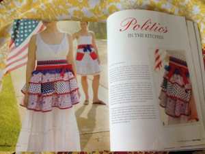 Politics in the Kitchen article page 126:127