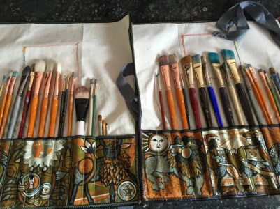Paint Brush Holders by Trish