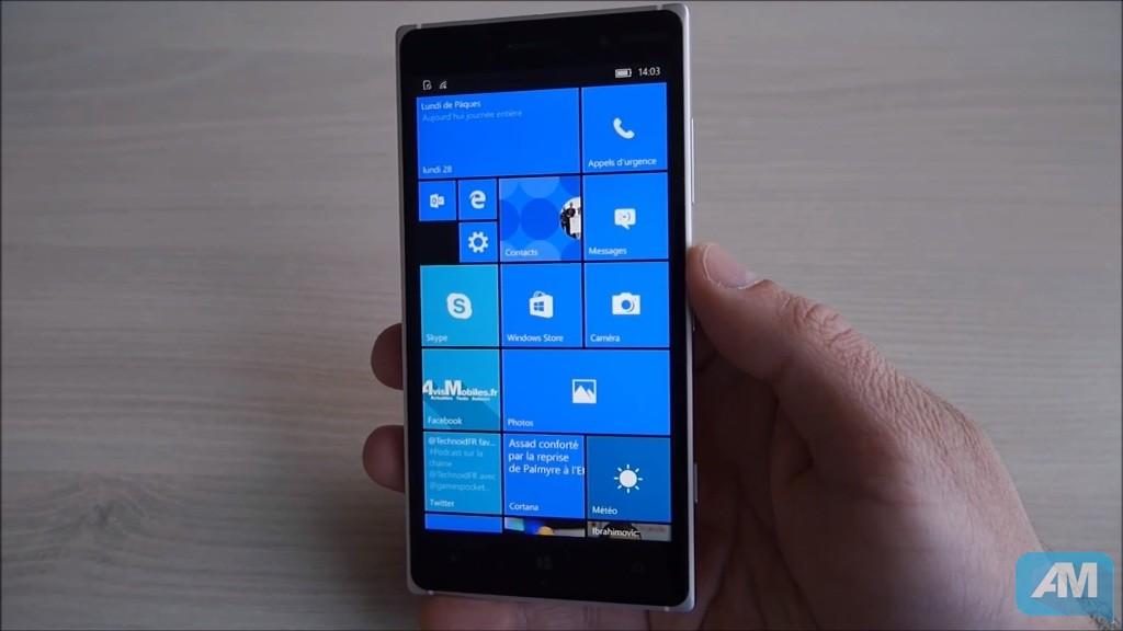 Windows 10 Mobile : Début du déploiement