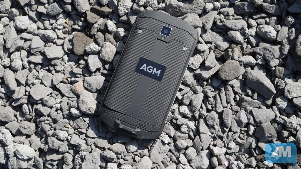 Test : AGM A8