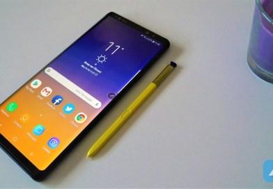 Test : Samsung Galaxy Note 9