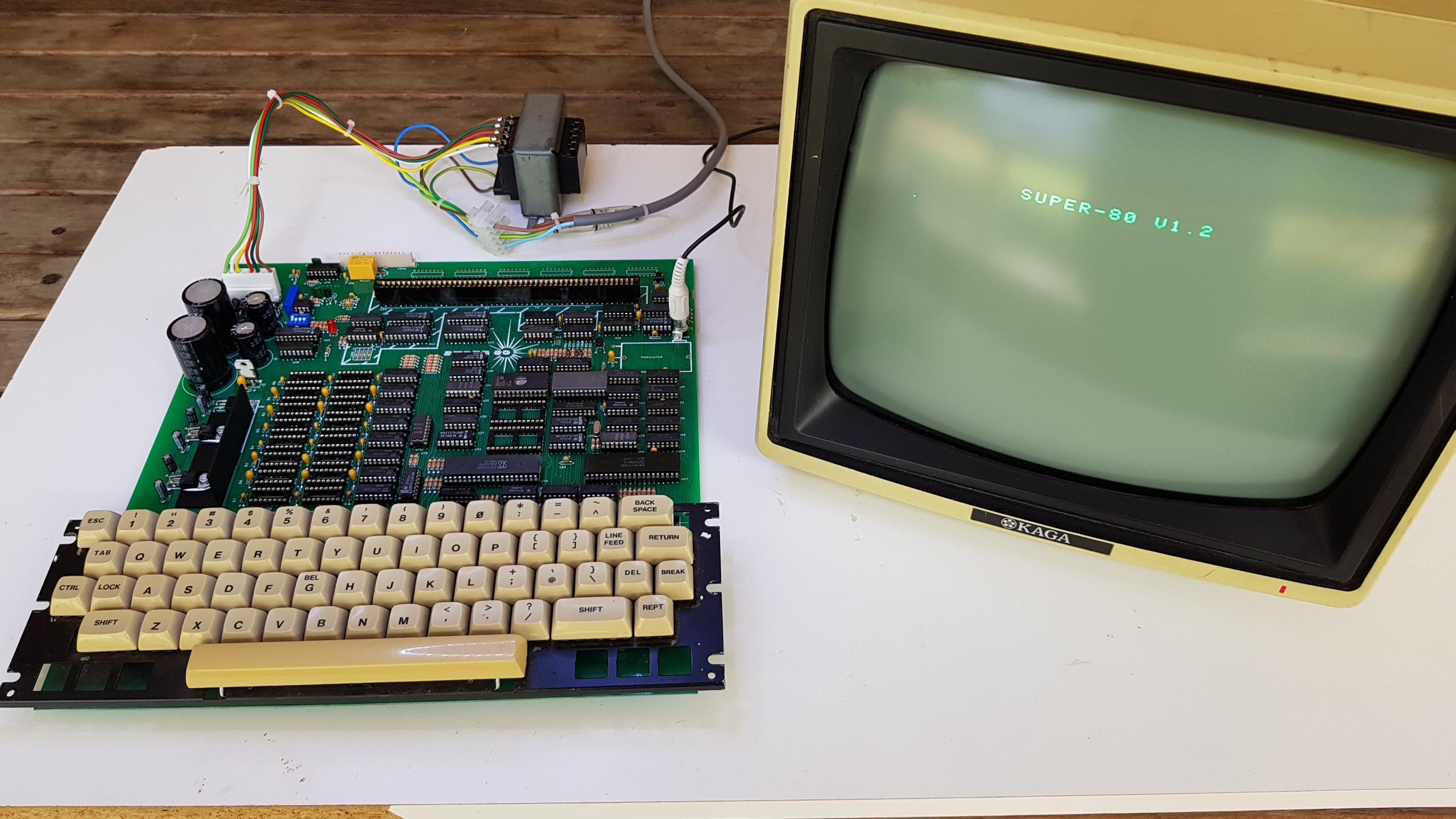 Super 80 – V1 Reproduction – vintage bits