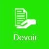 icone devoir vert