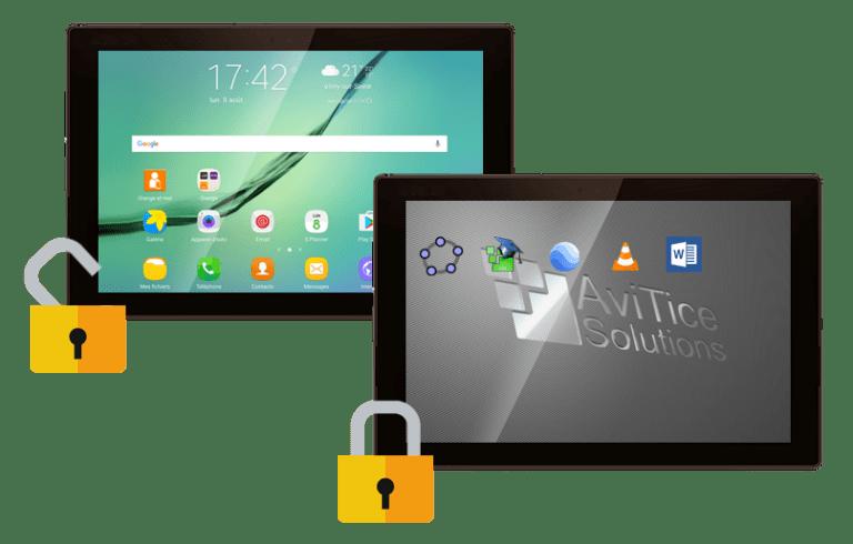 ecran tablette clyd avitice