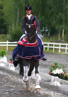 Vinner av 6-årsfinalen på Nes (foto: Eva Kindahl).
