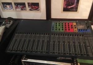 Cafe Havana Soundcraft board