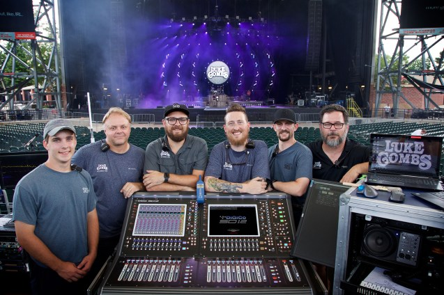 L-Acoustics and Luke Combs FOH