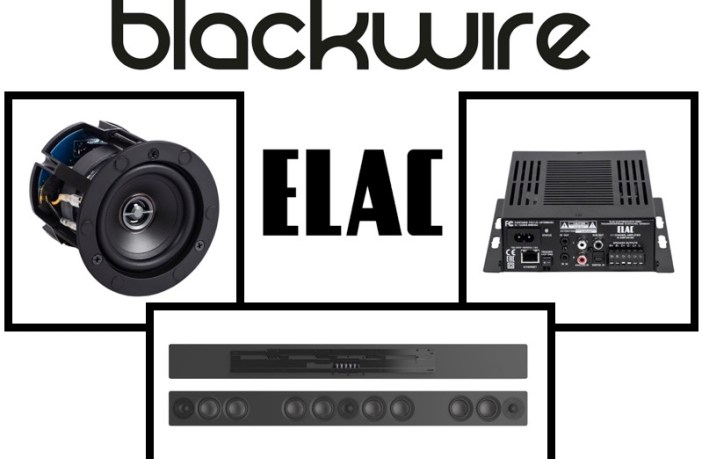 BlackWire Designs adds ELAC custom install home audio products to lineup