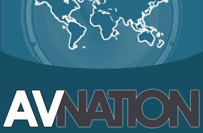 Avnation button logo