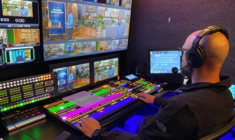 Custom Media Solutions pivots to live streaming with FOR-A HVS-2000 video switcher