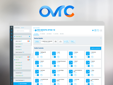 Welcome to OvrC 2.0