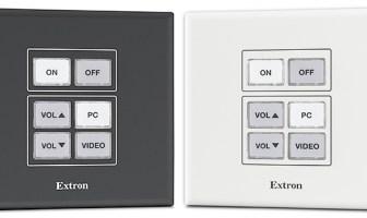 Extron expands NBP Network Button Panel series