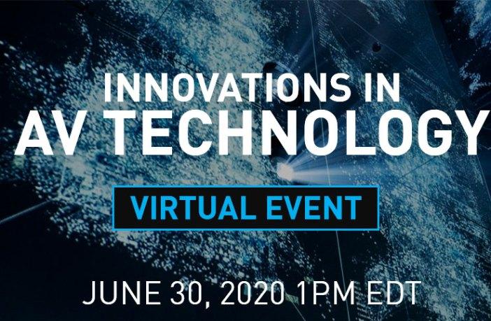 Panasonic 30 virtual event will address AV tech innovations