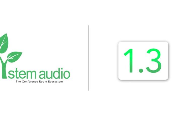 Stem Audio releases firmware update 1.3