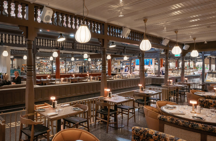 Swedish food hall employs Genelec's Smart IP solution