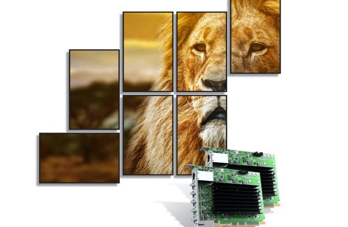 Matrox now shipping QuadHead2Go Q155 card
