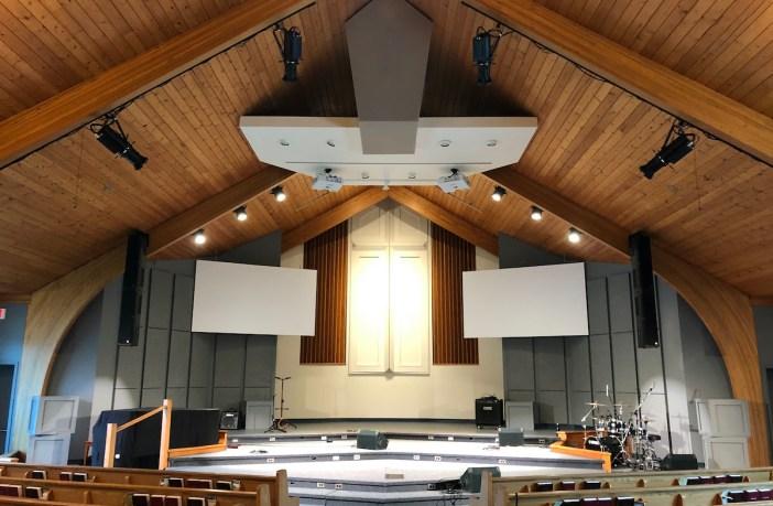 Winnipeg church uses Renkus-Heinz to give congregation full coverage