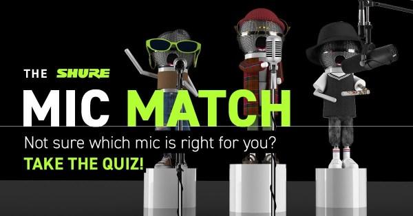 Shure Mic Match