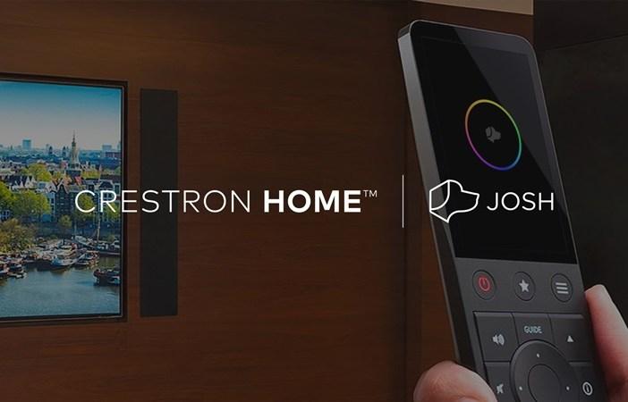 Josh & Crestron Home AV graphic