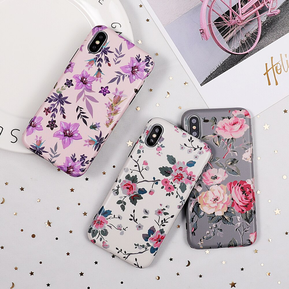 Exotic Style Silicone Phone Case for iPhone