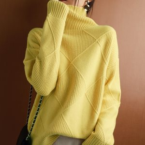 Women's Loose Cashmere Sweater