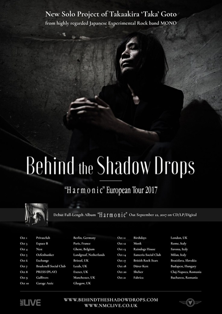 "Behind the Shadow Drops ""H a r m o n i c"" European Tour 2017"