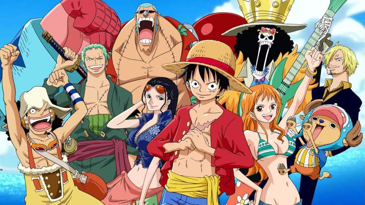 The Straw Hat Pirates © Toei Animation