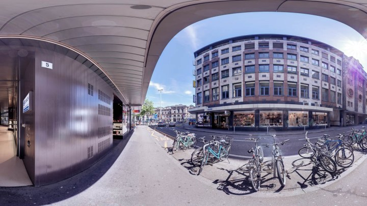 Photo: Urs Wyss by avocado360. The modern new renovaited GfK office at the Stadthof,  Zürich, Switzerland