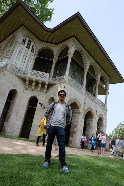 Pavilion, Topkapi Sarayi