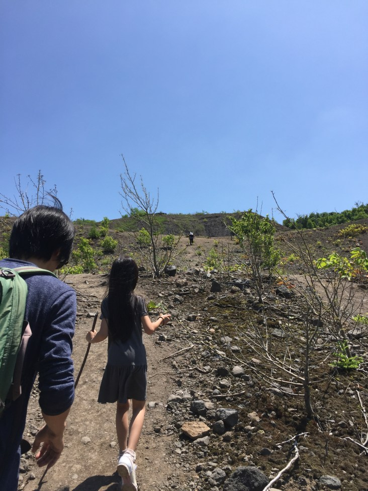Continuing up to the Yu-kun Crater