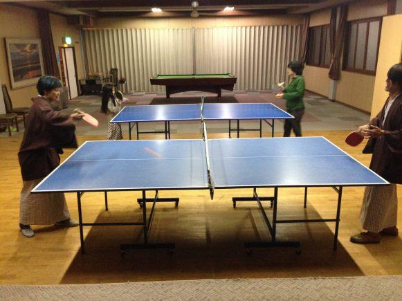 Kawanami's pingpong room