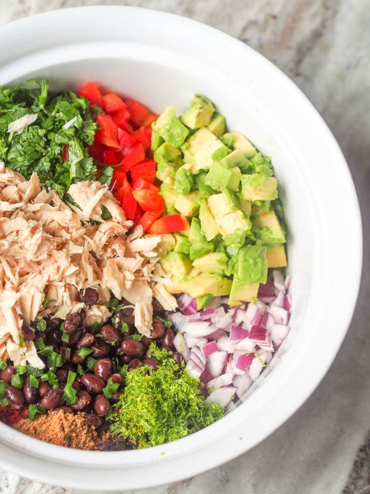 Quick Mexican Tuna Salad Amp Avocado Bowl Recipe GF DF