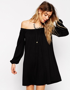 ASOS off-shoulder dress