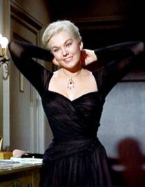 Kim-Novak-Vertigo-black-halter-neck-dress-by-Edith-Head