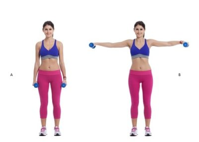 Image result for Lateral Raises exercise