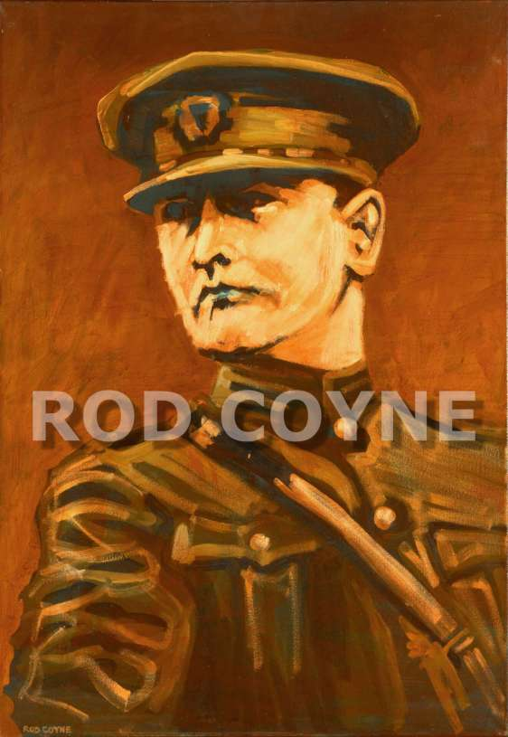 General Michael Collins canvas print