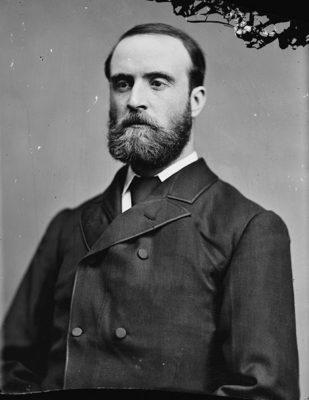 Charles Stewart Parnell photographic portrait