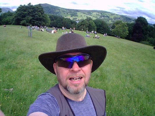 Rod Coyne at Sky Arts wild card heat in Cumbria.