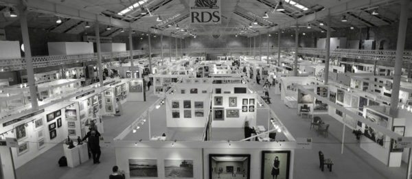 Marc O'Sullivan birds eye view of the exhibition in previous years.