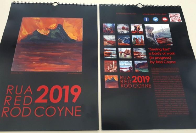 2019 calendar front and back