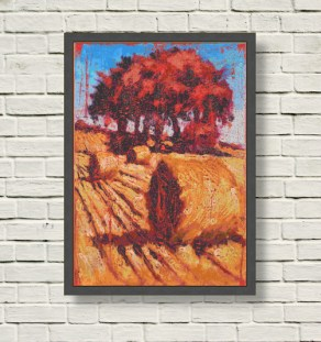 19_C_21_Rod Coyne_Scarlet Harvest 3_50x70cm_oil on canvas_2MB