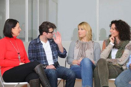 réunion d'une association sur le divorce