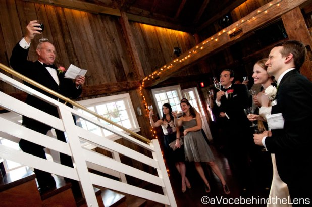 Raise your glasses with the Father of the Bride to a wonderful wedding!
