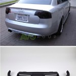 Rear Bumper Diffuser For Audi A4 B7 Sedan Avant 04 08 Avogroup Auto Parts Shop Service